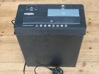 PaperPaper Shredder Maplin 11Litre N73JC (6 sheets A4)