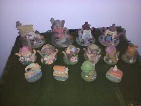 Mice ornaments x 14