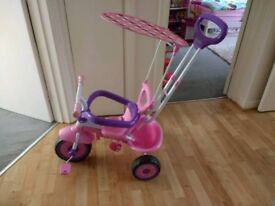 4 in 1 Trike Stroller & Tricycle For Toddlers and Children
