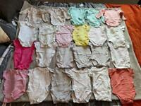 22 Body Suits. Age 3-6 months.