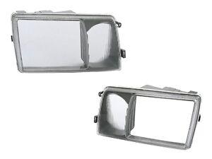 Mercedes W126 420SEL 350SD Left + Right Headlight Door URO Brand New + Warranty