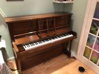 crowley upright piano