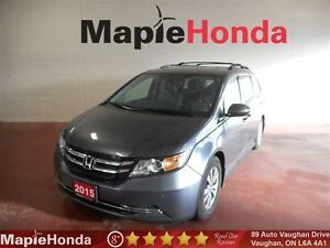 2015 Honda Odyssey EX-L| Leather, DVD, Backup Cam! 8 Passenger!