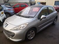 Peugeot 207 16V SE,5 door hatchback,full MOT,panoramic roof,nice clean tidy car,runs and drives well