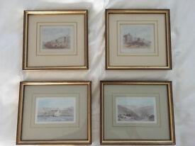 4 framed prints of Brighton