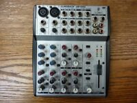 Behringer UB1002 Mixer (no power supply, sold as seen)
