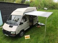 Renault trafic holdsworth rainbow campervan