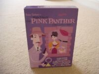 PETER SELLERS 'PINK PANTHER' FILM COLLECTION DVDs BOX SET.