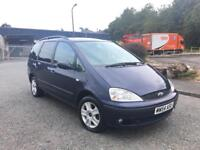 2005(54) Ford Galaxy 1.9 TDI Automatic Low Miles 12 Month MOT Top Of the Range! + Not Alhambra