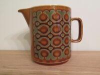 Retro 1970's Hornsea Potter 'Bronte' large jug