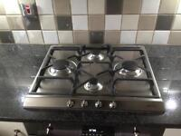 Smeg - New 4 burner gas hob ion very good condition -