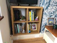 Square bookcase / tv stand
