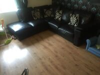 5 seater corner Couch for sale (armchair seprate)