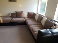 5 piece corner sofa (multi fit)