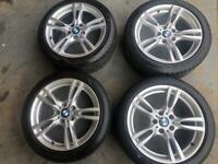 Bmw 3-4 series 18 inch m sport alloy wheels