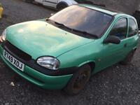 Vauxhall corsa 1.0 4 months mot mk1 Astra redtop Saab turbo