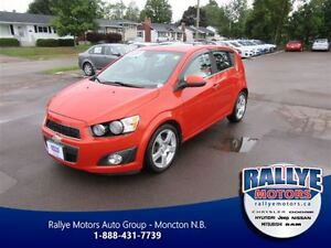 2012 Chevrolet Sonic LT! Sunroof! Alloy! Trade-In! Save!