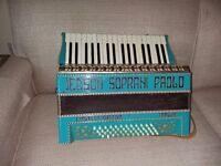 Vintage Soprano Paoli Accordion