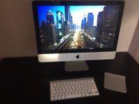 "pple iMac 21.5"" Desktop - Mid 2011 Model + Keyboard and Magic Trackpad 12GB RAM"