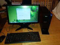 Acer aspire desktop pc