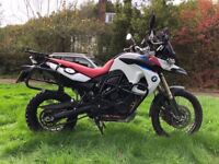 BMW f800 GS special edition.