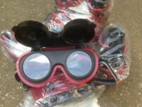 Flip up welding goggles 50 pairs