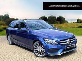 Mercedes-Benz C Class C250 D AMG LINE PREMIUM PLUS (blue) 2016-01-15