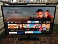 "51"" Samsung firestick smart TV LOADED WITH ETDKIX AND YouTube"