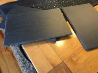Slate dinner place mats x 4