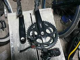 Shimano chainset in really good condition