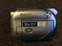 Canon DC220 DVD Camcorder with 35x Optical Zoom - video camera