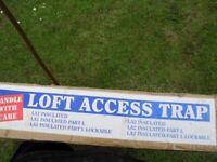 loft door trap new glide vale.