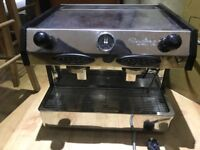 Fracino Bambino Automatic Group 2 Espresso Coffee Machine + Accessories + coffee bin drawer