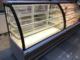 Genfrost Carina refrigerated patisserie cake display