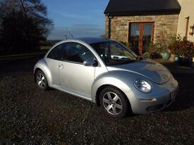 VW Beetle 2010 1.6 Luna Genuine 48,000 Miles