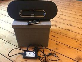 Phillips speaker with iPhone/iPod dock with aux in