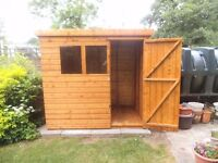 For Sale 8x6 Pent Shed