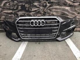 Audi A6 s line facelift 2015 2016 2017 2018 genuine front bumper for sale