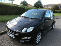 Smart Car FORFOUR, Hatchback, 2006, Manual, 1124 (cc), 5 doors. MOT June 2021. Cheap run/insure
