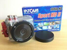 Intova Sport HD II waterproof HD video sports camera (as new)
