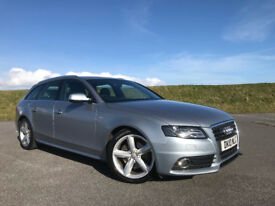 2010 AUDI A4 ESTATE AUTOMATIC 2.0 TDI S-LINE STUNNING WITH FULL SERVICE HISTORY AND NEW MOT!
