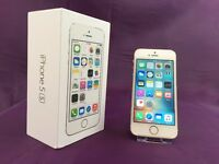 Gold Apple iPhone 5s` 16Gb Storage`On Vodafone