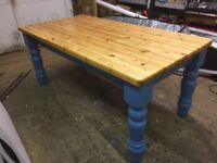 Pine dinning table £300 have dropped price must go
