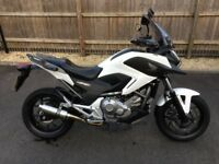 For Sale Honda NC700X with panniers and extras.