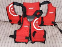 Used Yak, Gul and Traveller II Buoyancy Aids £25 Each or £120 for all