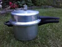 High dome prestige pressure cooker.