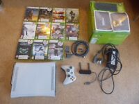 Xbo 360 120gb, Wireless WiFi Adapter and 13 games: Excellent condition