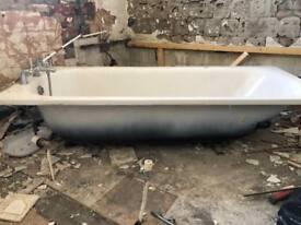 Free scrap metal bath