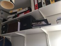 Shelving and drawers system from Ikea
