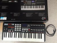 AKAI mpk49 midi keyboard performance controller - 12 mpc drum pads